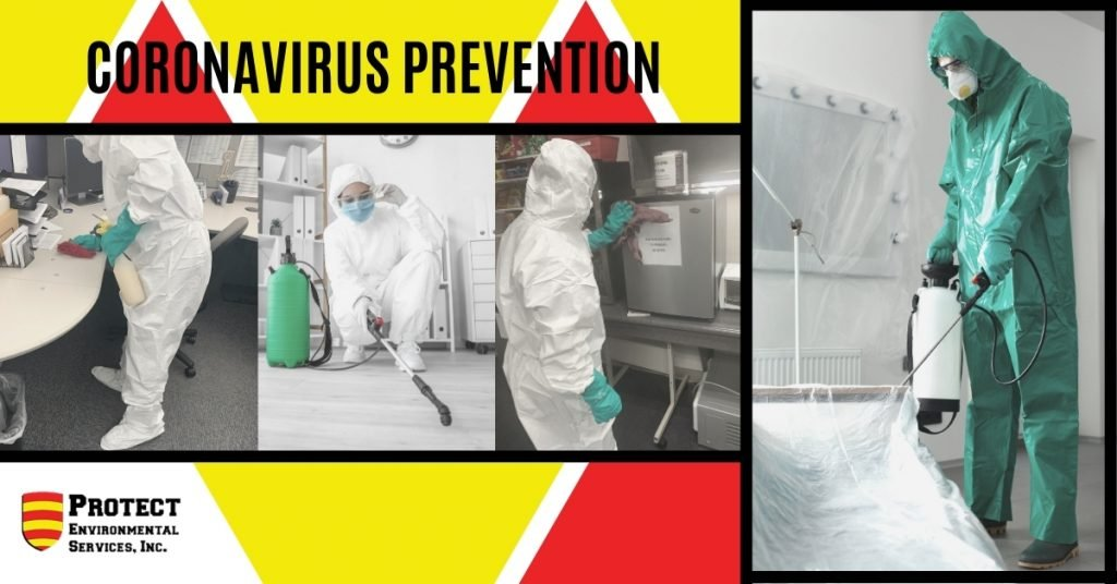 Coronavirus prevention - Protect Environmental Services