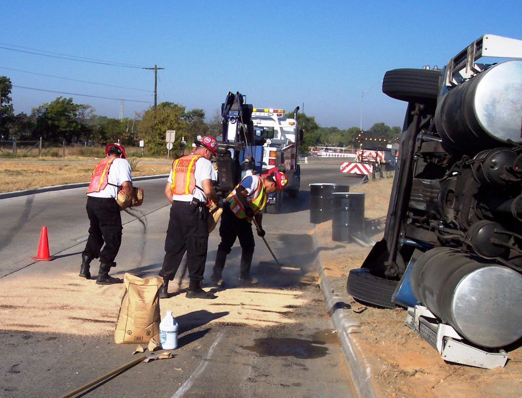 Spill cleanup services in DFW