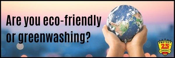 Greenwashing marketing