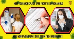How to keep your workplace safe from the coronavirus