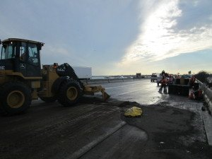 Cleanup of multi-vehicle wreck
