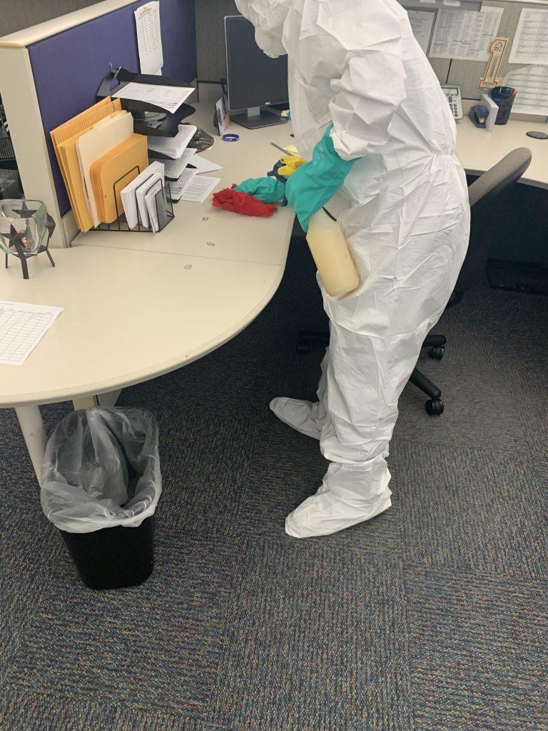 Coronavirus- Covid19 Cleanup